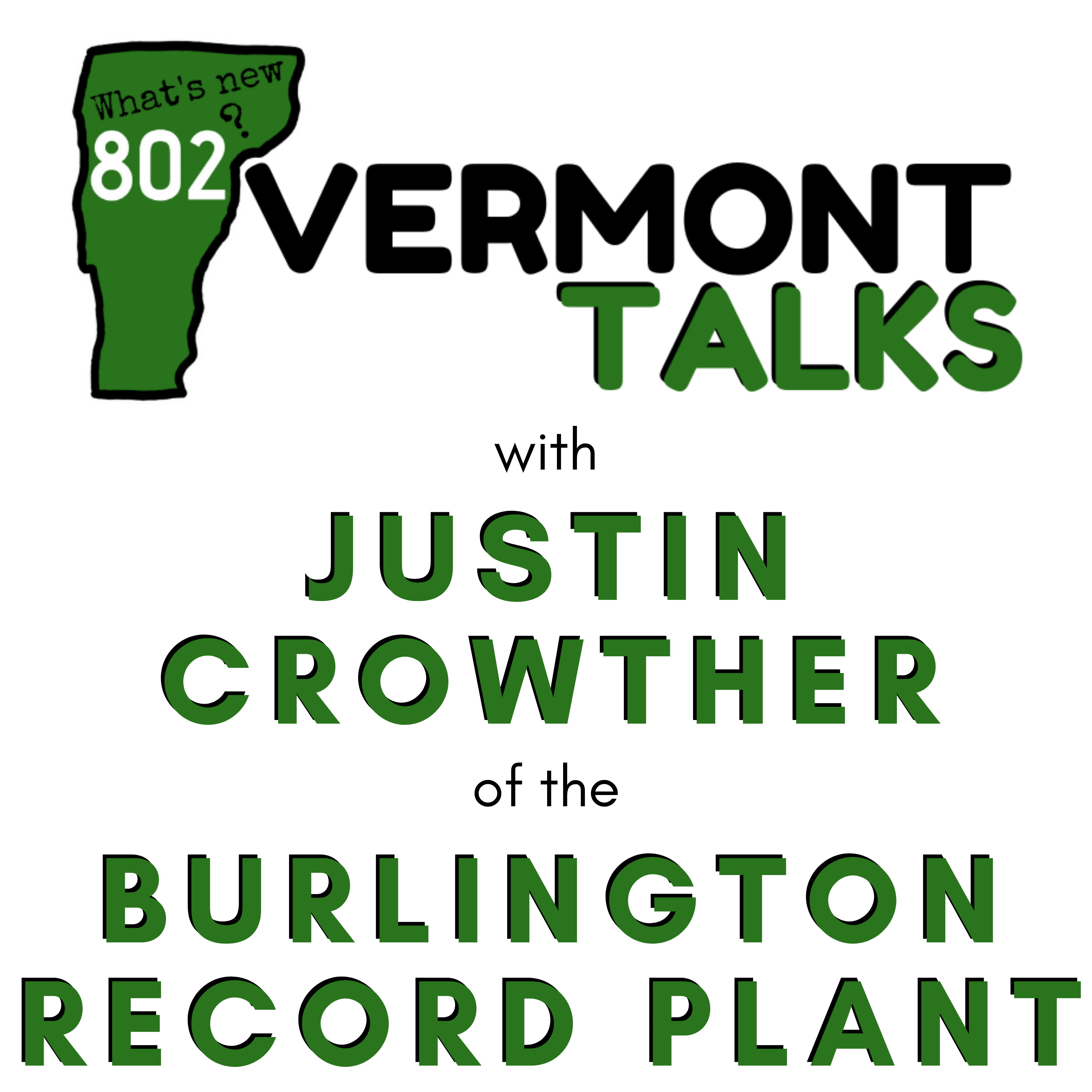 Talking with Justin Crowther of the Burlington Record Plant